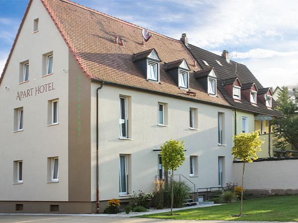 Aparthotel Bamberg Gartenstadt Hotel preiswert günstig